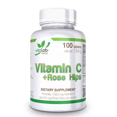 Vitamin C 1000 + csipkebogyó kivonat (100 tabletta)