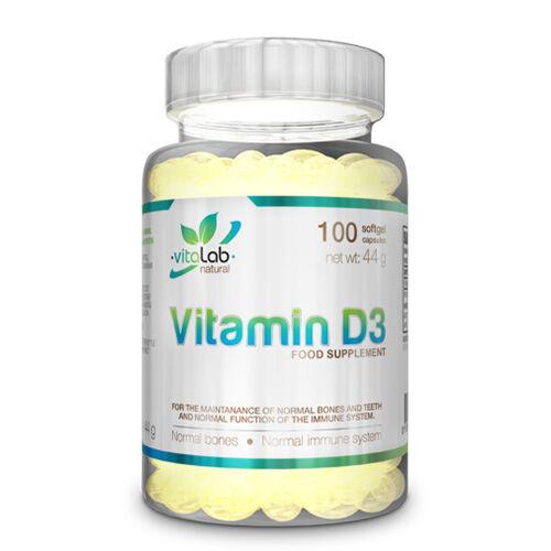 Vitamin D3 (100 lágykapszula)
